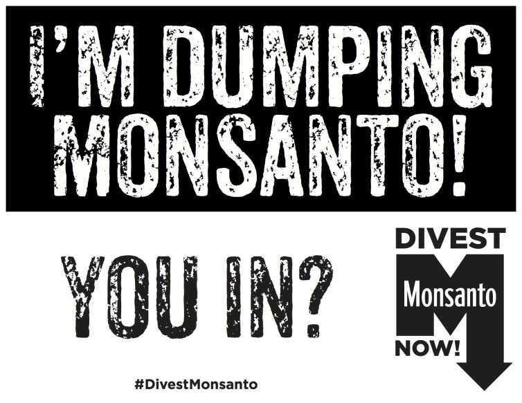 Monsanto is destined to fail - it requires willing customers and willing shareholders. Public opinion is everything, and dropping fast.