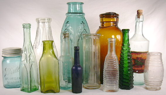 Glass bottles in so many shapes. Time to standardize